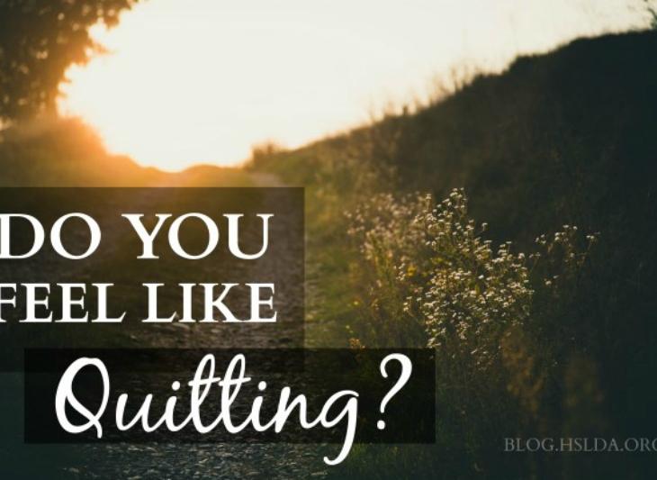 Do You Feel Like Quitting? | HSLDA Blog