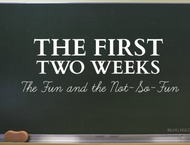 The First Two Weeks | HSLDA Blog