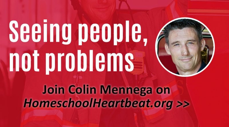 Seeing People, Not Problems: An Interview with Colin Mennega | Homeschool Helpers