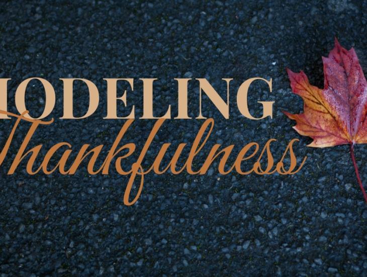 Modeling Thankfulness | HSLDA Blog