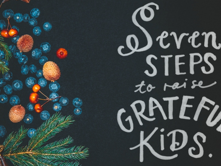Seven Steps to Raise Grateful Kids | HSLDA Blog