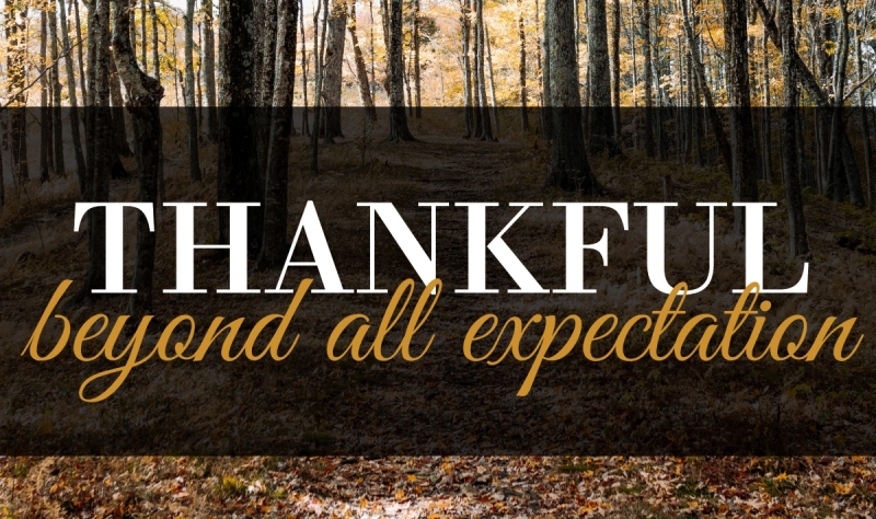 Thankful Beyond All Expectation | HSLDA Blog