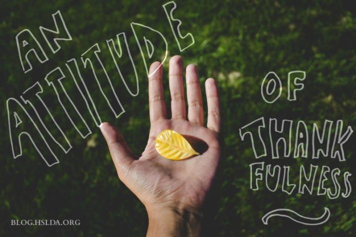 An Attitude of Thankfulness   HSLDA Blog