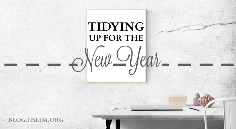 Tidying Up for the New Year   HSLDA Blog