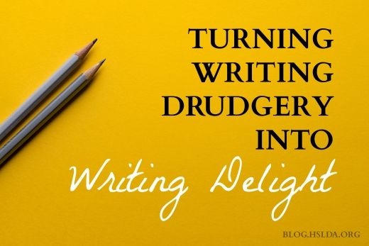 Turning Writing Drudgery to Writing Delight | HSLDA Blog