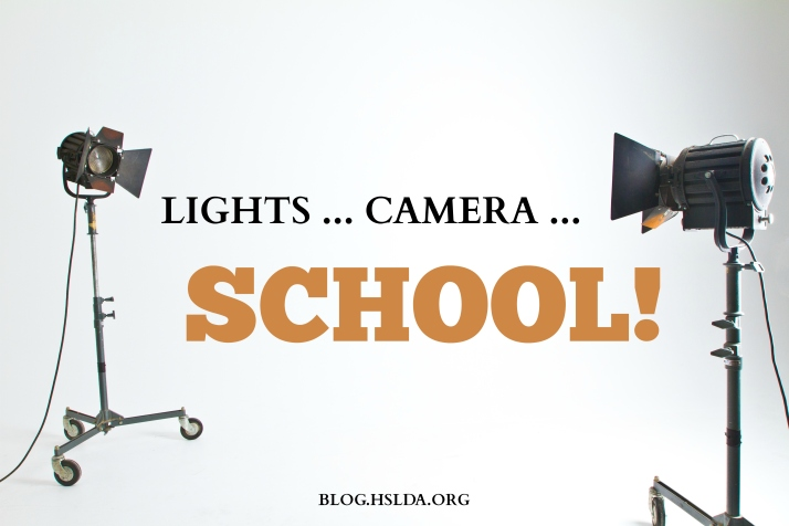 Lights … Camera … School! | HSLDA Blog