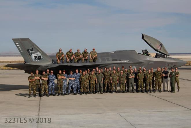 2019_1_22 - members of the netherlands air force unit
