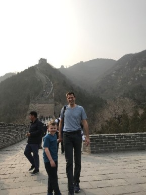 2019_4_17 - Hiking the Great Wall with Dad_Amy Koons