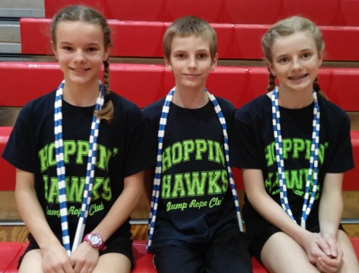 2020_1_8 - Hannah, Luke, Sarah make the Hoppin' Hawks Team